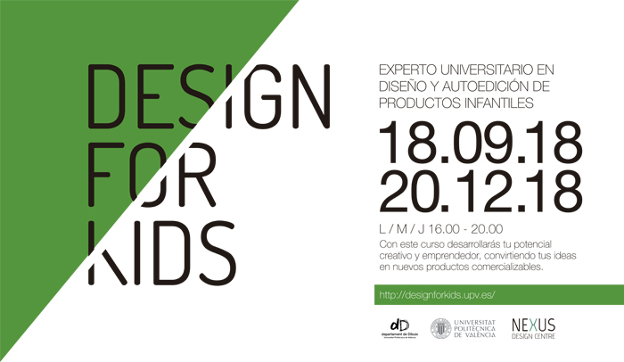 Nueva Convocatoria: Design For Kids